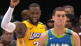 Los Angeles Lakers vs Dallas Mavericks 1st Half Highlights   January 10, 2019-20 NBA Season