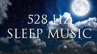 8 hour healing sleep music regenerate your cells   delta binauralbeats   solfeggio 528hz
