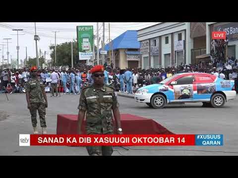 Sanad kadhib Xasuuqii Qaran  14 October 2017 Mogadishu City Isgooska Zoobe