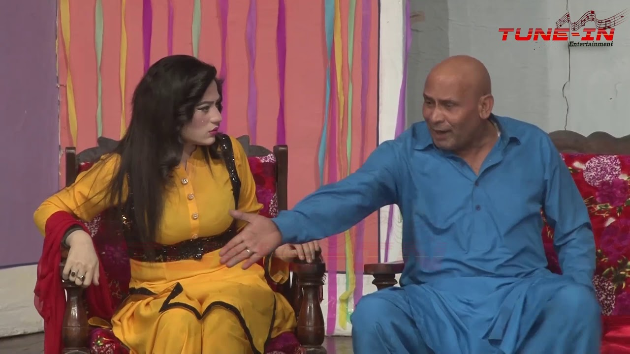 Main Nhi Atta Rana     Akram Udas    Funny Performance  Stage Drama Clips 2019