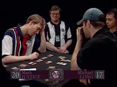 Pro Tour Paris 1997 Final - Mark Justice vs Mike Long