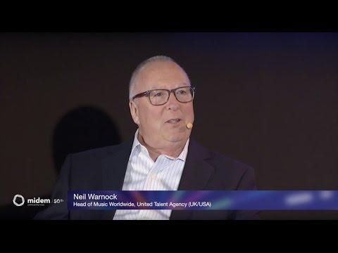 Keynote: Neil Warnock, United Talent Agency - Midem 2016