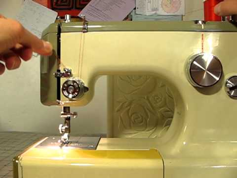 How To Thread A Sears Kenmore Sewing Machine Model 4040 YouTube Classy How To Thread A Kenmore Sewing Machine