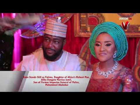 Promo of Ovation Platinum Wedding Between and Fatima Aliko Dangote & Jamil Abubakar