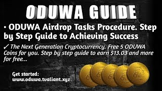 ODUWA COIN Registration Guide Step 2