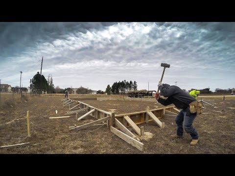 How to form a concrete foundation - Texas Barndominiums Episode 13
