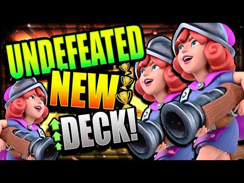 UNSTOPPABLE NEW META DECK!! IT CAN'T LOSE!! Easy 3 Musketeers Ladder Deck - Clash Royale
