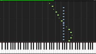 Carol of the Bells [Piano Tutorial] (Synthesia) // Nicholas Steinbach