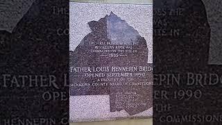 8/13/16  FR LOUIS HENNEPIN BRIDGE  MINNEAPOLIS