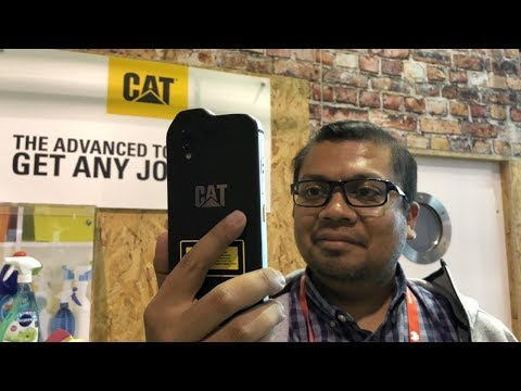 CAT S61: Military Grade smartphone with a laser measurement tool