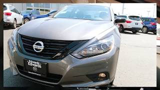 2018 Nissan Altima SR Midnight Edition Overview