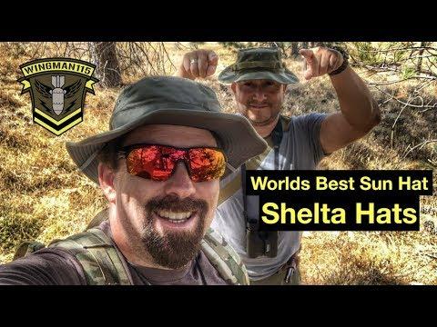 Worlds Best Sun Hat -Shelta Hats Seahawk