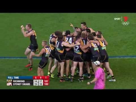 The sealer: Lloyd ends Tiger misery after siren  AFL