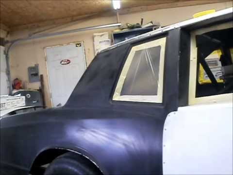 prep and paint race car,painting monte carlo caponeauto