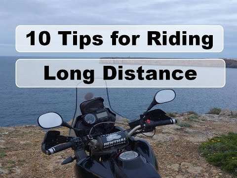 Motorcycle Riding Tips - Long distance