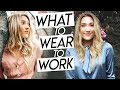 what to wear to work | business casual try on clothing haul! professional try on haul