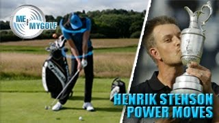 HENRIK STENSON'S POWER MOVES IN THE GOLF SWING