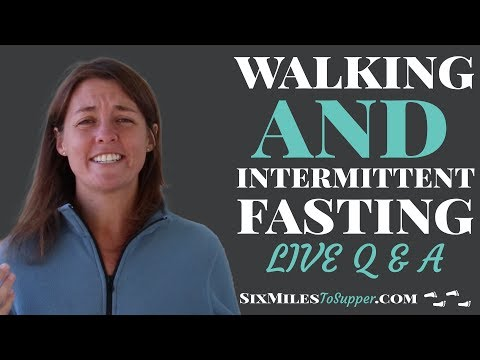 Intermittent Fasting And Walking Q&A - Houston Biohackers