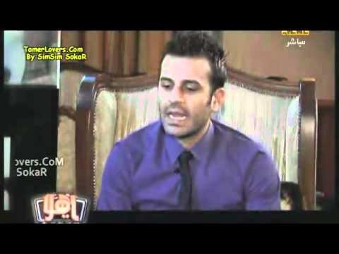 Interview With Tamer Hosny On Rotana.rmvb