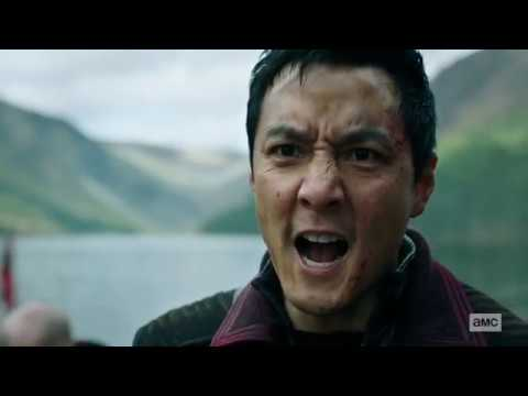 Download INTO THE BADLANDS---SUNNY AND THE BLACK LOTUS ARMY ARE FIRST TO ARRIVE  AT THE FORTRESS BY BOAT---HD