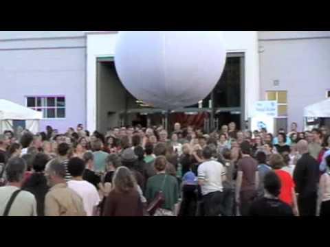 Interactive Ball Jon Rose Mona Foma Festival 2011