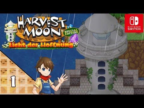 Harvest Moon: Licht der Hoffnung Let's Play ★ 1 ★ Der defekte Leuchtturm ★ Switch Edition ★ Deutsch