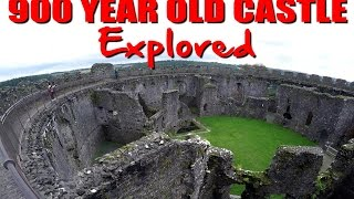900 Year Old Castle Explore - Secret Passage In The Well?