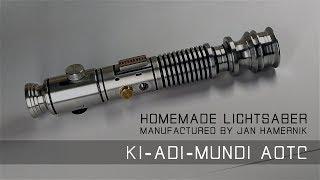 Ki-Adi-Mundi AOTC Lightsaber Replica (Homemade)
