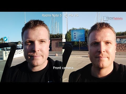 Mi Mix 2S Vs Redmi Note 5 Camera Comparison - It's A Draw!