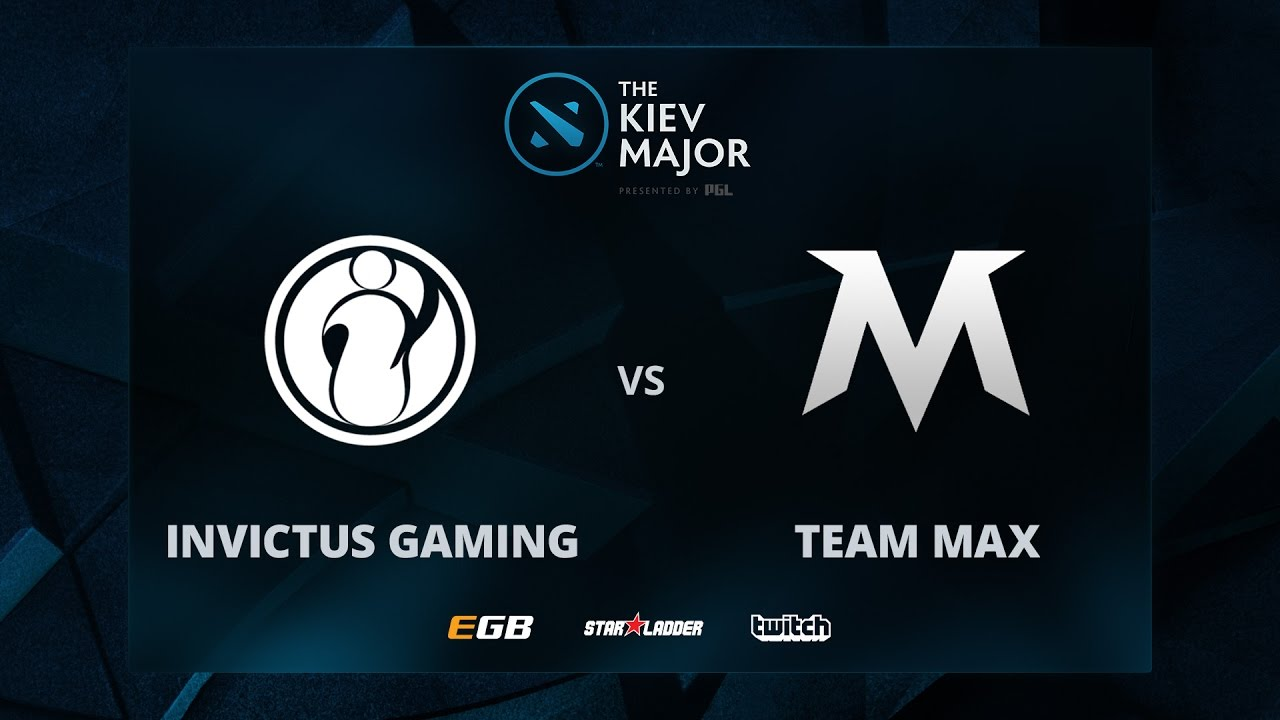 Invictus Gaming vs Team Max, The Kiev Major CN Main Qualifiers