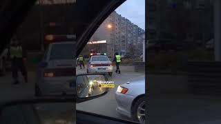 Новосибирск. Хорошая работа ДПС.
