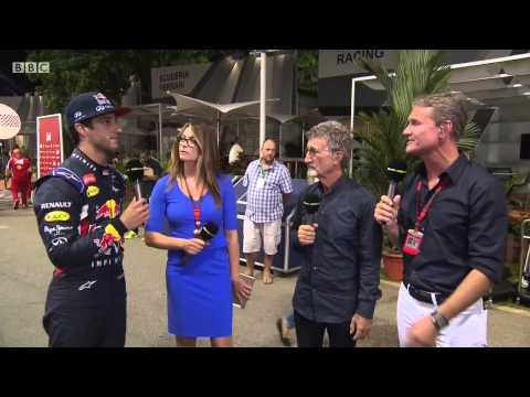 2015 Singapore - Post-Race: Daniel Ricciardo