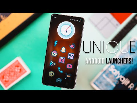 5 UNIQUE Android Launchers YOU MUST DOWNLOAD (2020)!