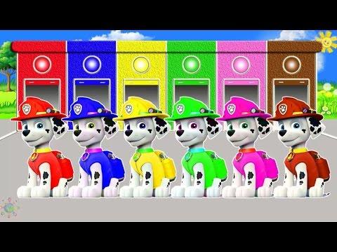 ЦВЕТА НА АНГЛИЙСКОМ для детей ЩЕНЯЧИЙ ПАТРУЛЬ Маршал #цвета_для_детей