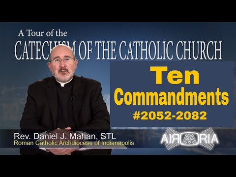 Ten Commandments - Tour of the Catechism #76