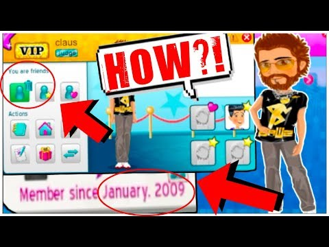 I AM FRIENDS WITH THE FIRST PERSON CREATED ON MSP!! *HOW?*