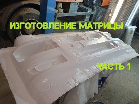 Изготовление матрицы для стеклопластика своими руками