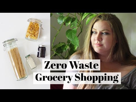 THE EASIEST WAY TO SHOP ZERO WASTE // Zero Waste Grocery Shopping on a Budget