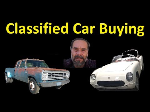 HOW TO BUY A CAR / TRUCK FROM ACTUAL CLASSIFIED AD ~ WORK VLOG