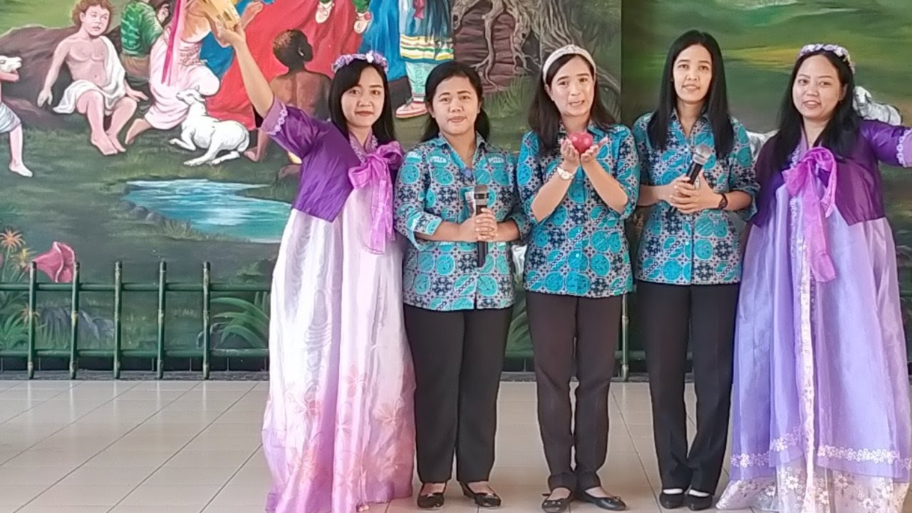Ibadah Anak KB-TK Petra Kediri, 30 Juli 2020