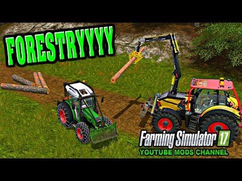 Farming Simulator 17 Mods Fendt 209 Forest Edition & Biobeltz HC 10