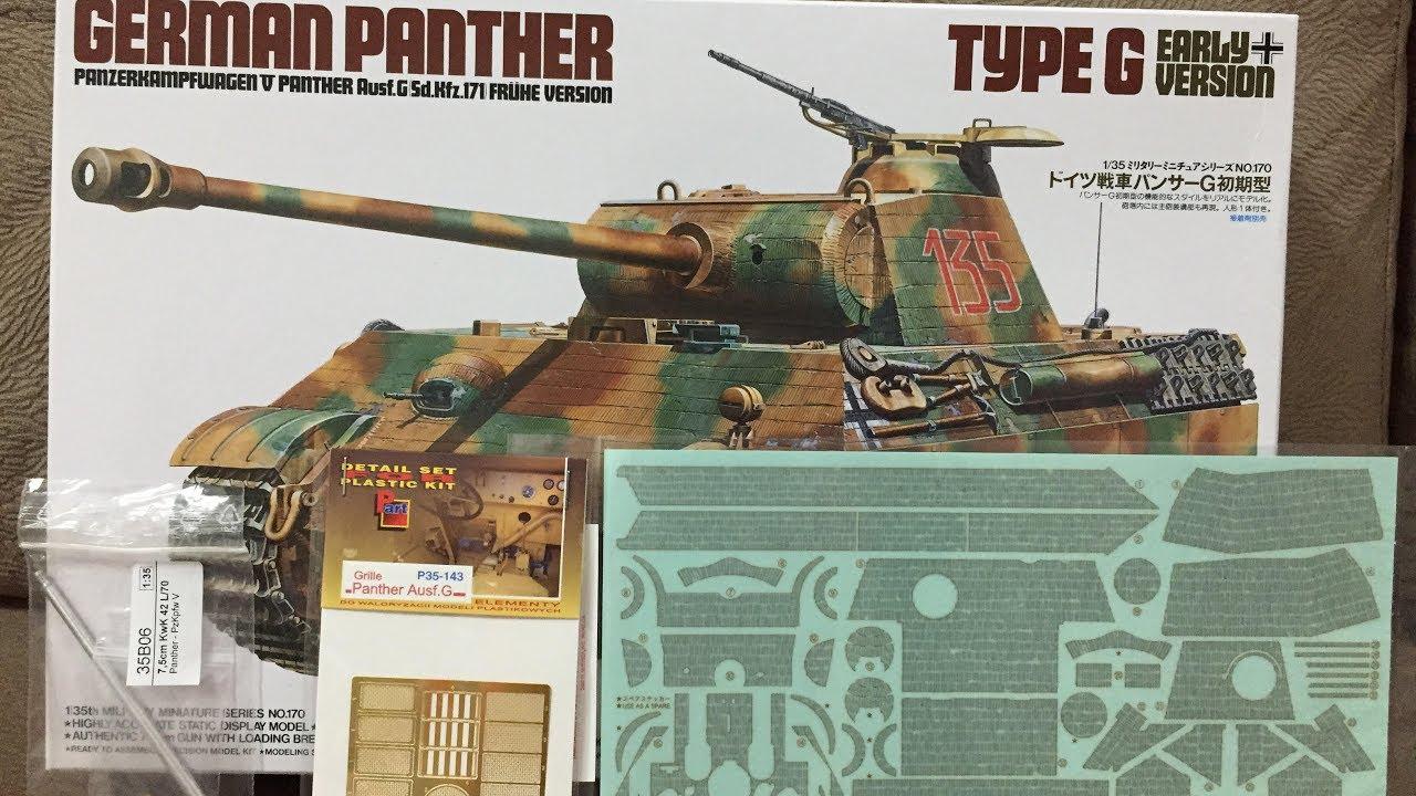 Panther Ausf G Tamiya 35170 Sd.Kfz 171-1:35 Frühe Version