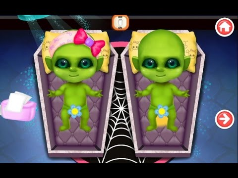 "Mommys Cute Newborn Alien Baby ""Role Playing games"" Android Gameplay Video"