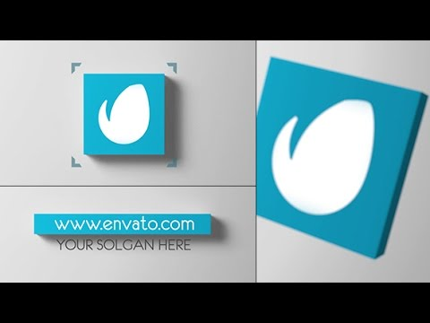 3D Abstract Cube Display After Effects Template Free VideoHive