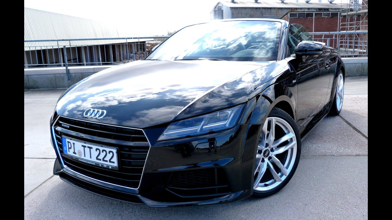 testbericht audi tt roadster [2015] - road test drive video review
