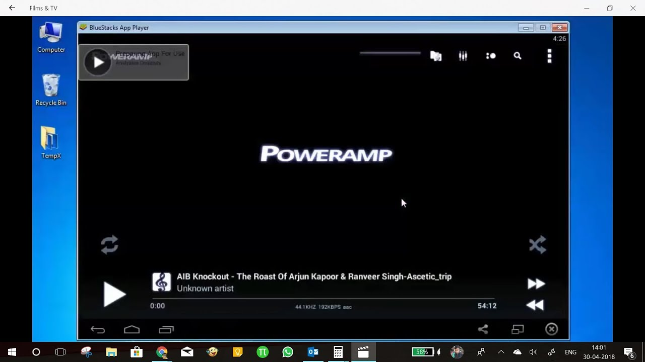 How to download and install poweramp music player for pc (windows.