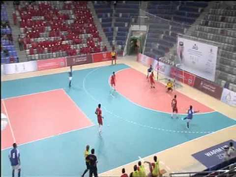 البحرين : 5. بطولة الخليج للأعلام الرياضي لكرة الصالات -عمان X الكويت  2 ابريل 2015م