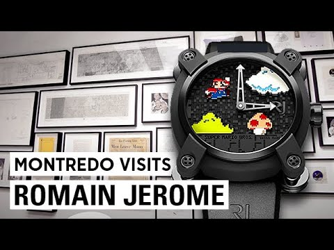 Romain Jerome - High-end Watchmaking With An Innovative Twist