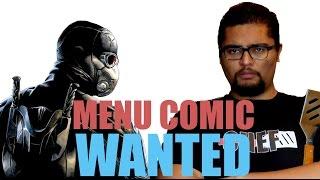 WANTED - MENU COMICS