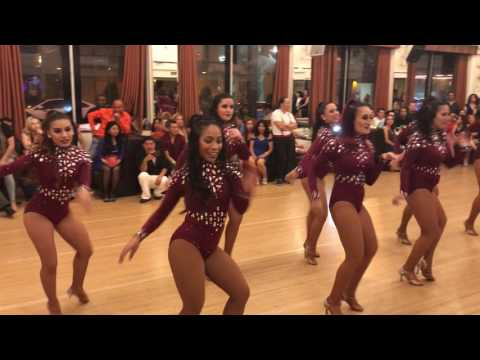 OMAMBO LADIES SALSA FREE STYLE @THE GRANADASLA BACHATA WEEKENDER 2017